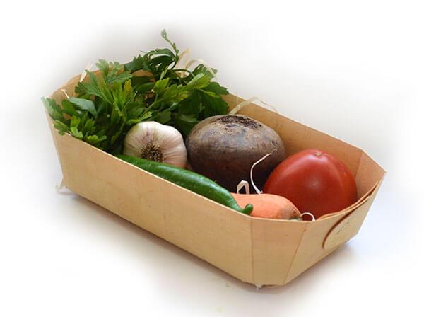 Лотки для наборов овощей